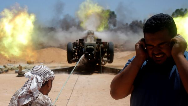 Libyjští vojáci u Syrty - Sputnik Česká republika