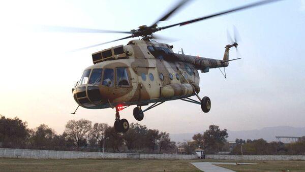 Pákistánský vrtulník Mi-17 - Sputnik Česká republika