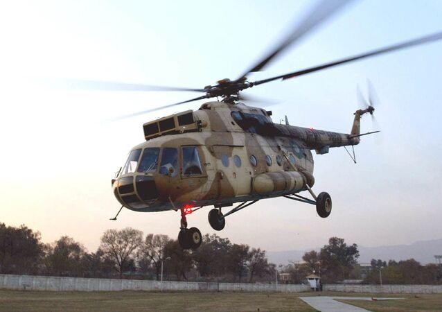 Pákistánský vrtulník Mi-17
