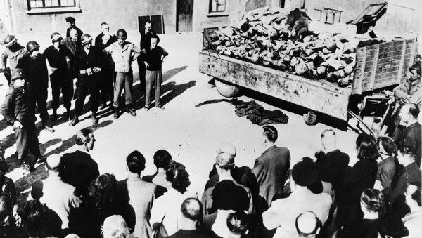 Oběti zvěrstev v Buchenwaldu - Sputnik Česká republika