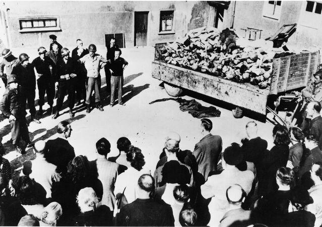 Oběti zvěrstev v Buchenwaldu