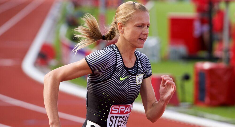 Běžkyně Julia Stěpanovová