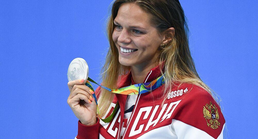 Ruská plavkyně Julije Jefimovová. Ilustrační foto