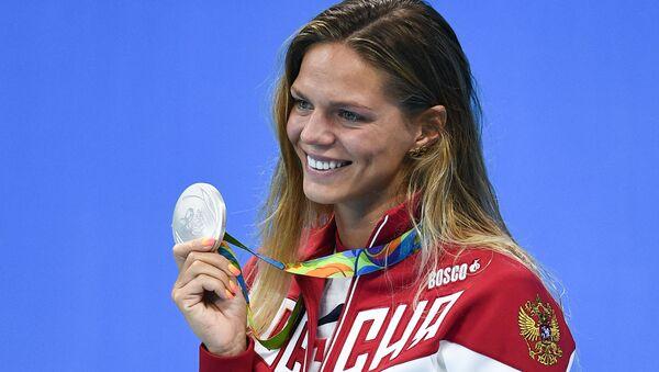 Ruská plavkyně Julije Jefimovová - Sputnik Česká republika