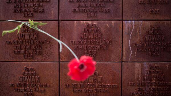 Památník v Katyni - Sputnik Česká republika