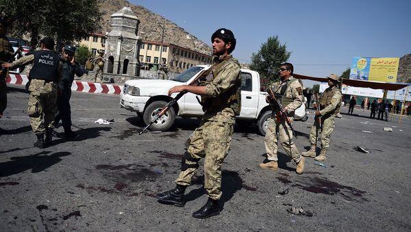 Místo výbuchu v Kábulu - Sputnik Česká republika