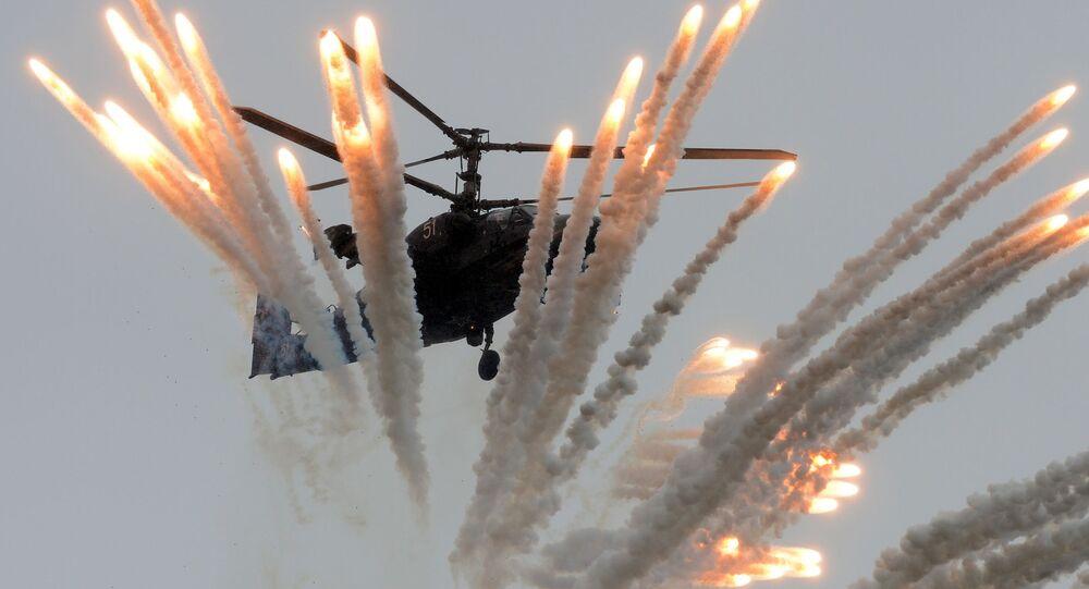 Bojový vrtulník Ka-52