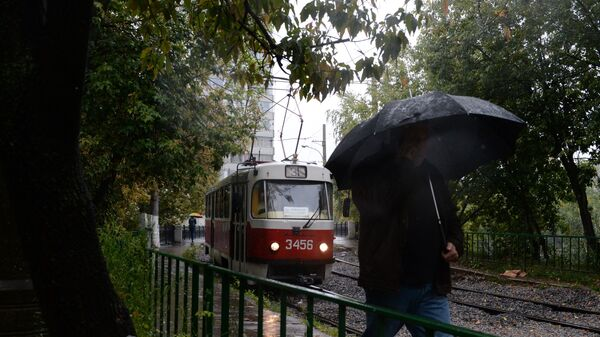Déšť v Moskvě - Sputnik Česká republika