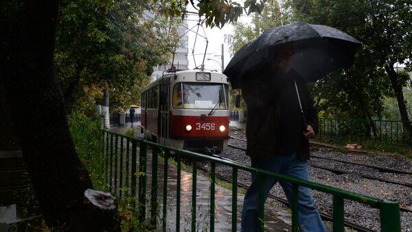 Déšť v Moskvě. Ilustrační foto - Sputnik Česká republika