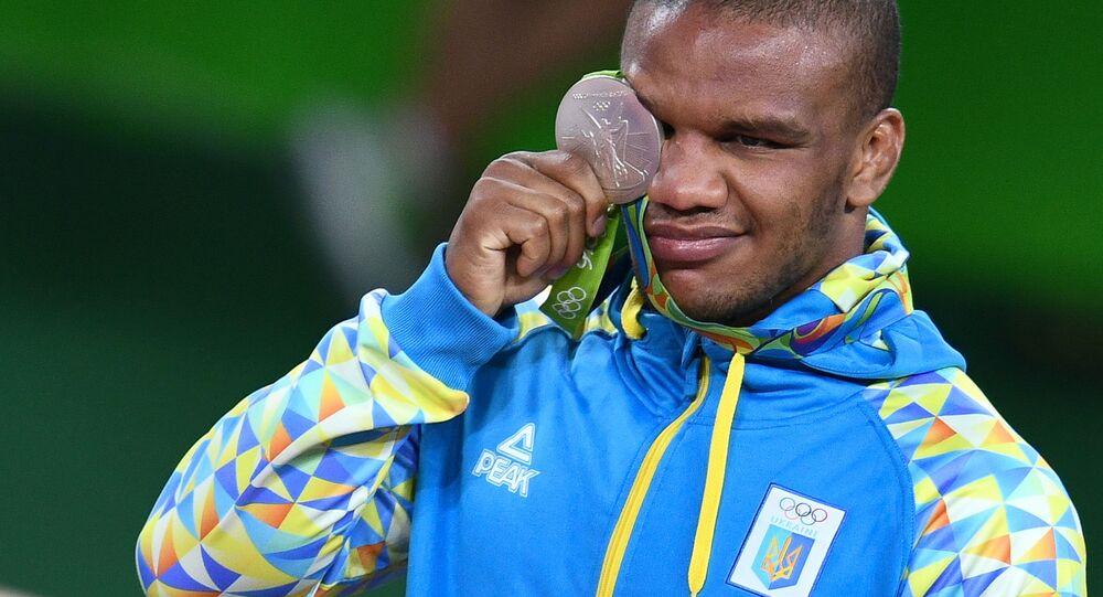 Ukrajinský zápasník klasik Žan Beleňuk