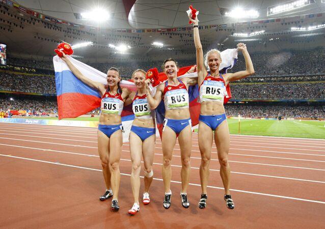 Julie Čermošanská, Alexandra Fedorivová, Jevgenija Polakovová, Julie Guščinová