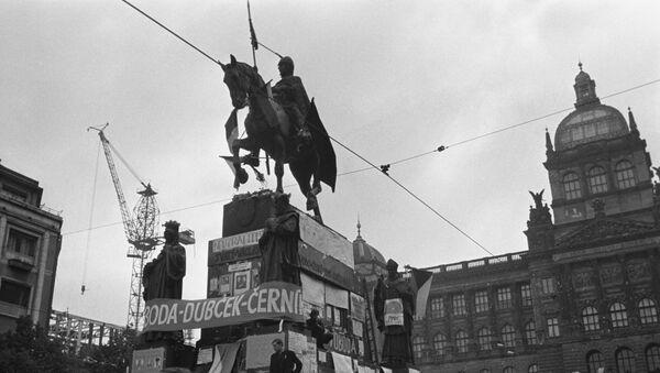 Mítink na Václavském náměstí - Sputnik Česká republika