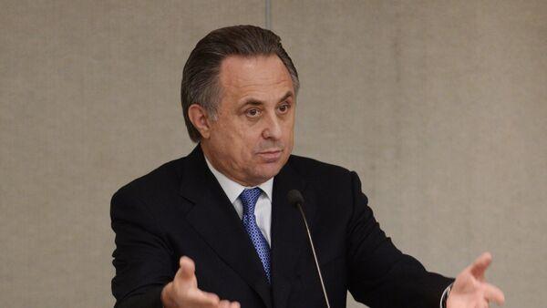 Ministr sportu Vitalij Mutko - Sputnik Česká republika