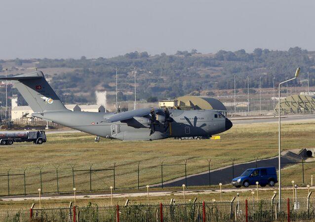 A400M na základně Incirlik