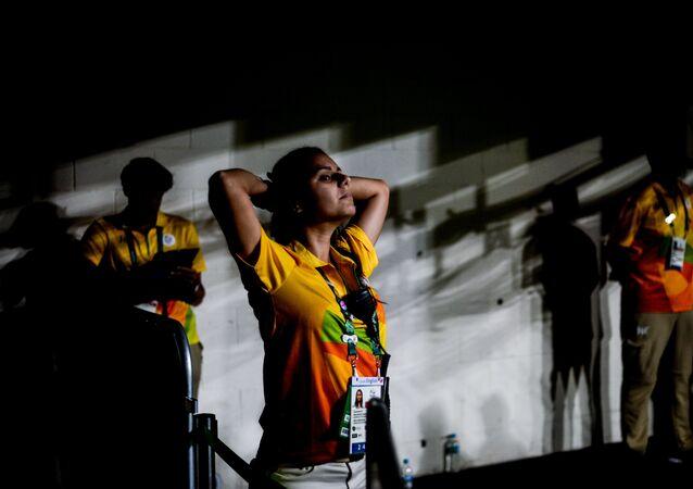 Dobrovolníci v Riu
