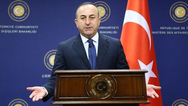 Turecký ministr zahraničí Mevlüt Çavuşoğlu - Sputnik Česká republika