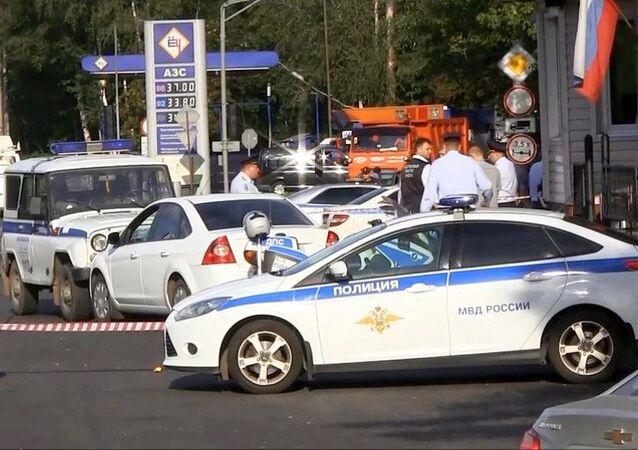 Ruská dopravní policie.