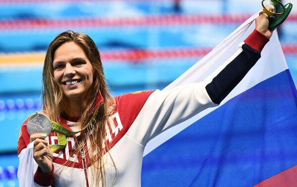 Julija Jefimovová (plavání) - Sputnik Česká republika