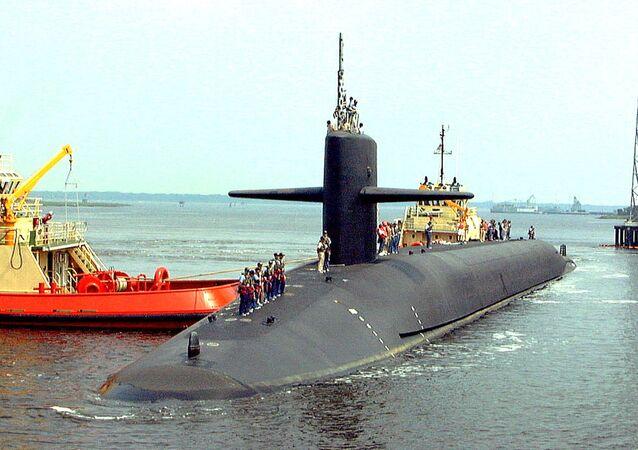 Americká atomová ponorka Louisiana