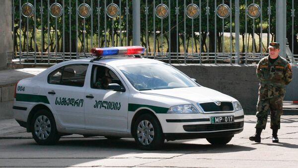 Gruzínský policista - Sputnik Česká republika