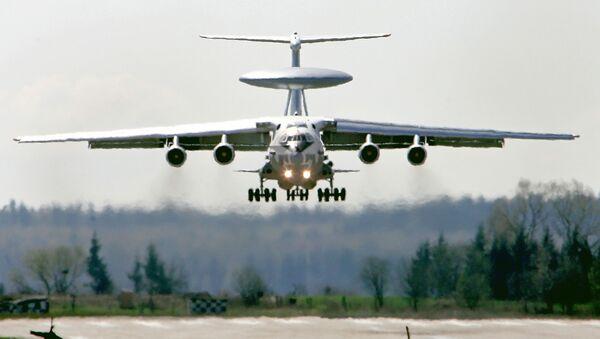 Radarový letoun A-50 - Sputnik Česká republika