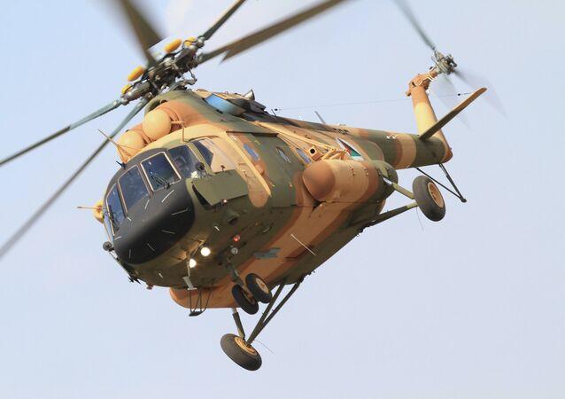 Vrtulník Mi-17V-5 v Afghánistánu