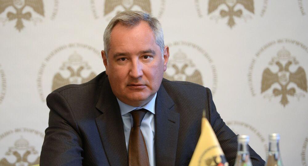 Místopředseda ruské vlády Dmitrij Rogozin
