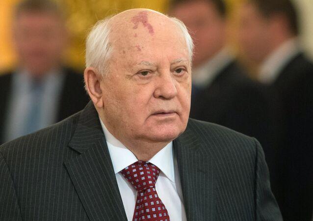 První a poslední prezident SSSR Michail Gorbačov