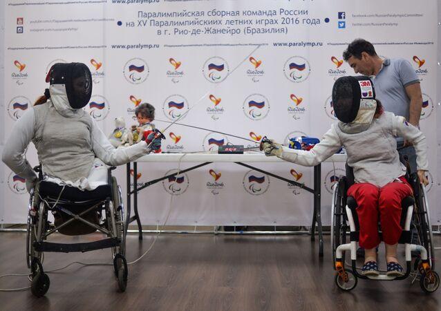 Ruští paralympionici.