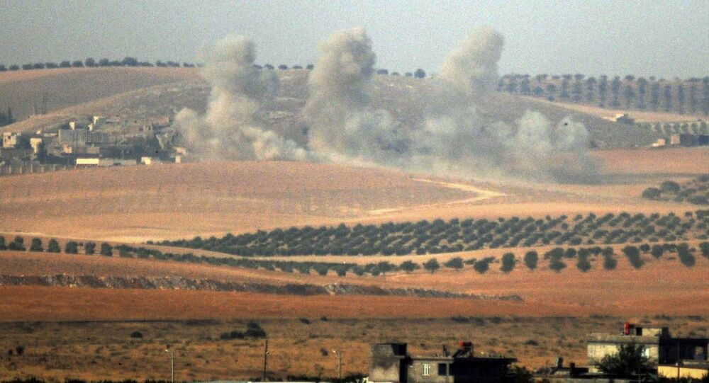 Turecké tanky v Sýrii