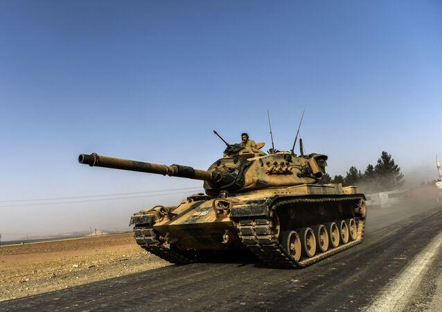 Operace turecké armády v Sýrii