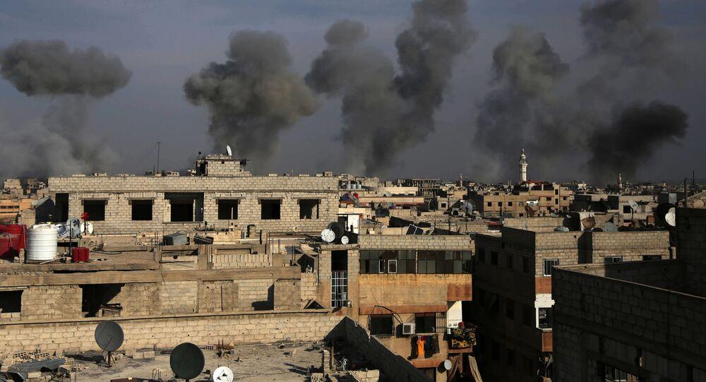 Ghúta, Sýrie