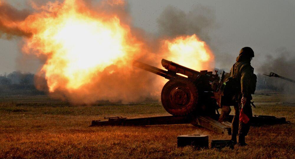 Cvičení vyzbrojených výsadkových sil v Přímoří