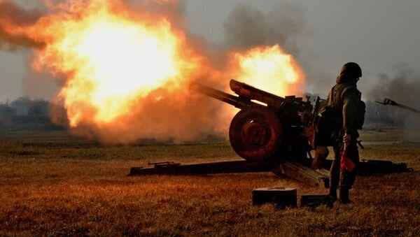 Cvičení vyzbrojených výsadkových sil v Přímoří - Sputnik Česká republika