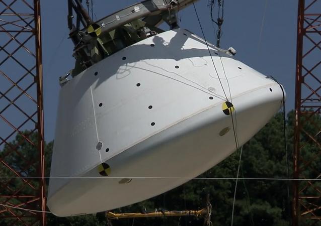 NASA hodila na vodu loď pro misi na Mars
