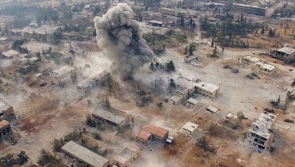 Jihozápad Aleppa v Sýrii - Sputnik Česká republika