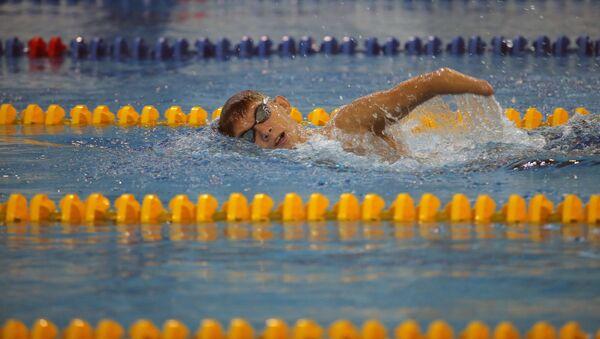 Ruský plavec Bogdan Mozgovoj - Sputnik Česká republika