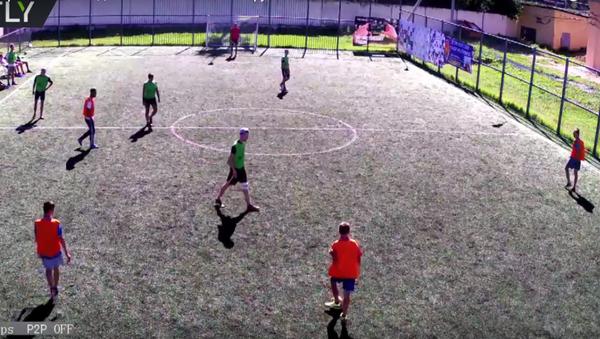 Zápas v minifotbalu v Tveri, který trval 7 a půl dne, se uchází o světový rekord - Sputnik Česká republika