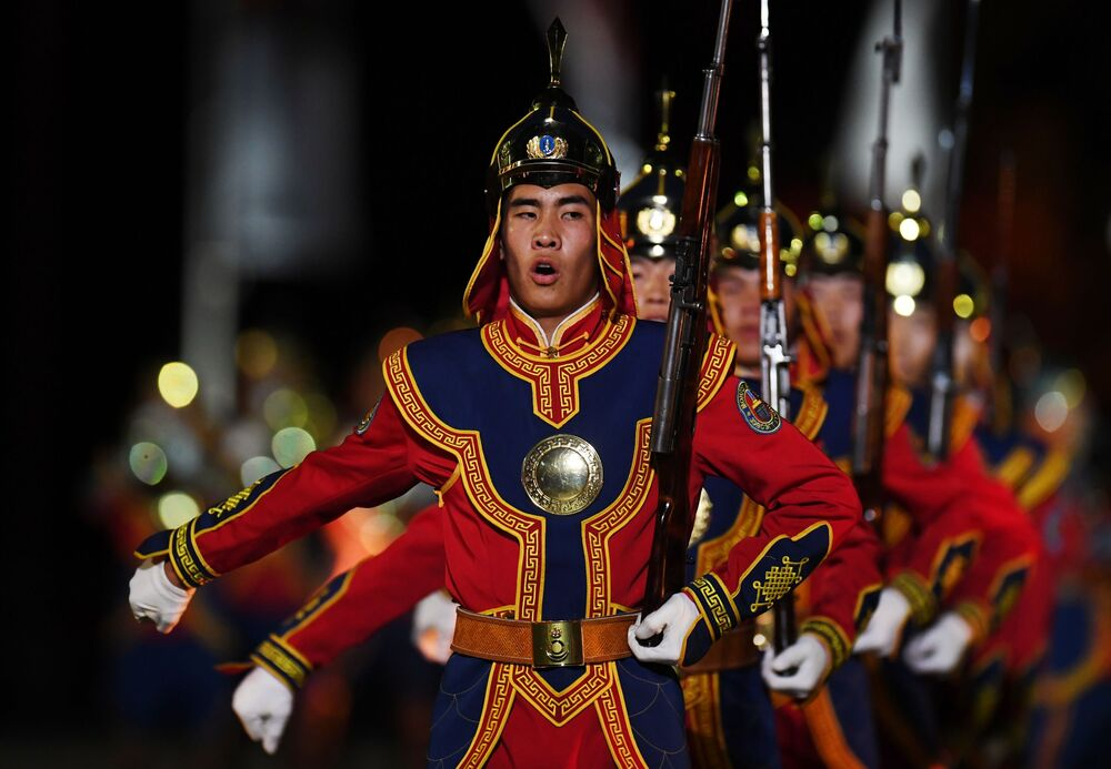 Vojáci mongolské armády