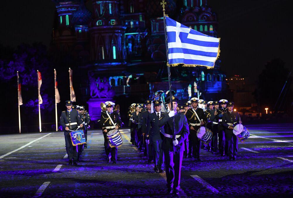 Řecký vojenský orchestr