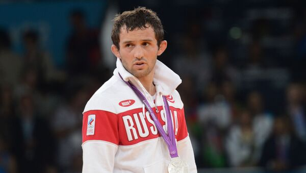 Ruský zápasník Běsik Kuduchov - Sputnik Česká republika