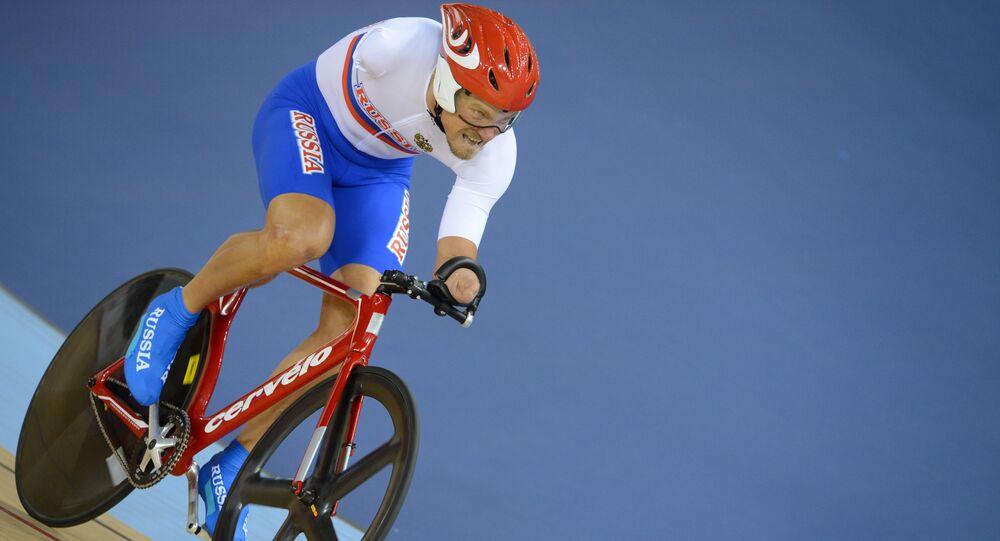 Ruský paralympionik Alexej Obyděnnov na XIV Paralympijských hrách v Londýně