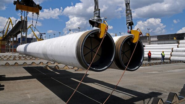 Budování plynovodu Turecký proud - Sputnik Česká republika