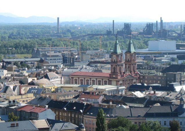 Ostrava - město na severovýchodě České republiky v Moravskoslezském kraji