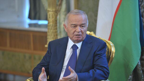 Prezident Uzbekistánu Islam karimov - Sputnik Česká republika