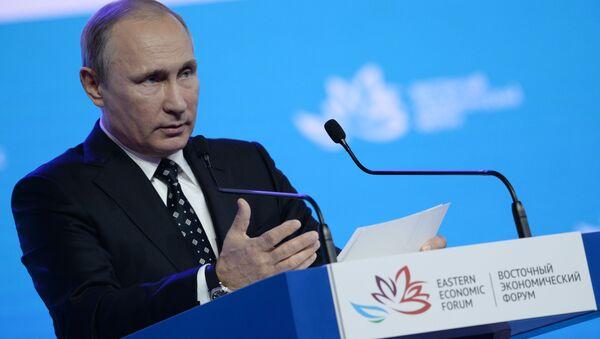 Vladimír Putin - Sputnik Česká republika