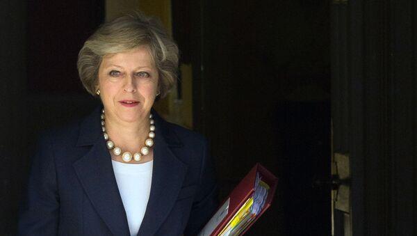 Britská premiérka Theresa Mayová - Sputnik Česká republika