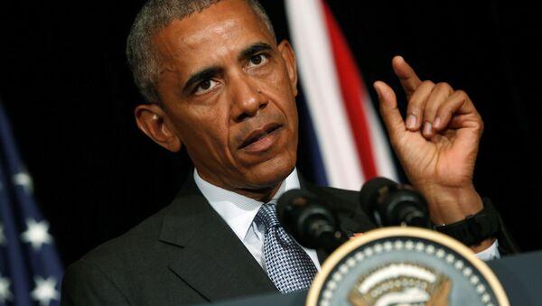 Bývalý prezident USA Barack Obama - Sputnik Česká republika