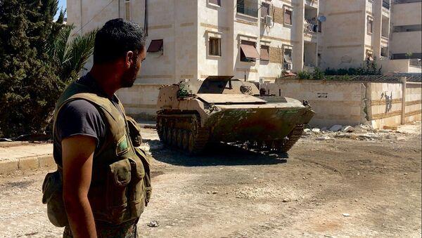 Situace na jihozápadě Aleppa - Sputnik Česká republika