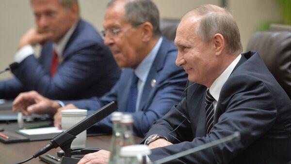 Schůzka Vladimira Putina a Baracka Obamy - Sputnik Česká republika